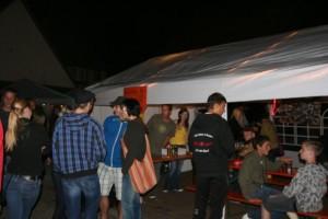 Stand bei der 100-Jahr Feier TSV Schwarzenberg